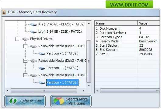 Memory Stick Data Recovery 5.3.1.2 full